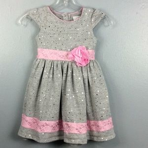 Sweet Heart Rose Girls Party Holiday Dress Sz 6